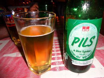 トーゴビール『ピルス』