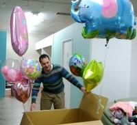 JJ14年3月14日2誕生日風船1