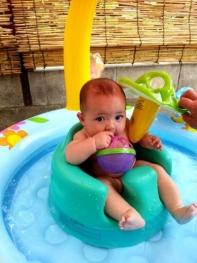 JJ13年夏のプール遊び