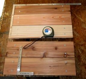 DIY14_5_17 2天板と座面板