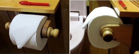 トイレペーパーホルダー
