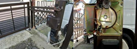 DIY14_6_16 電動ゲートSW修理1
