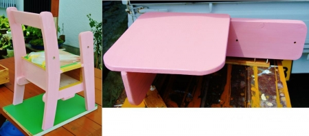 DIY14_7_21 4ピンク塗装