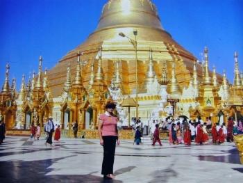 ミャンマーシュエダゴォンパゴダ