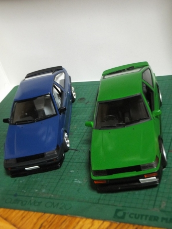 AE86緑