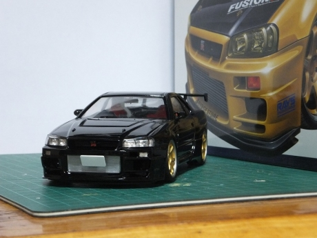 トップシークレットR34黒 (8)