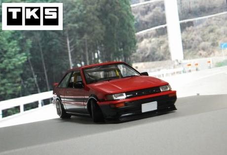 AE86赤レビン2ドア (4)