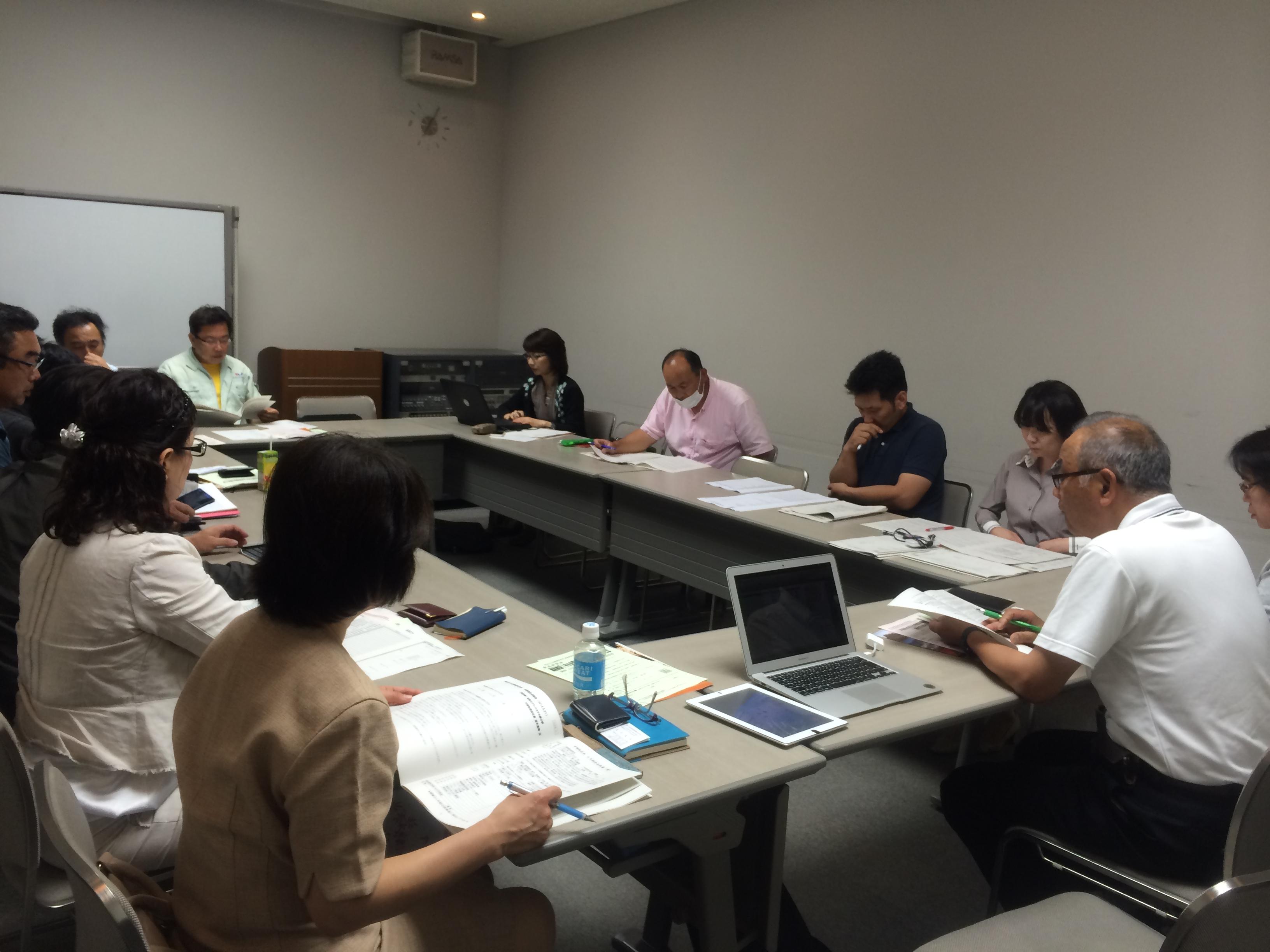 2014年埼玉同友会中部地区第1回幹事会1
