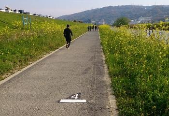 4km地点