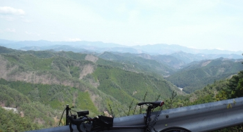 標高1000mからの大峰山