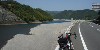 145km熊野川に出た