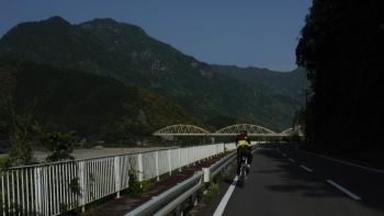 170km熊野川を南下