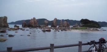 218km橋杭岩
