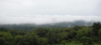 雲海が広がる