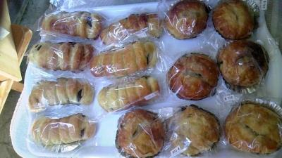 手作りの美味しいパン