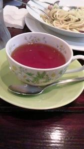 かわいいカップで。