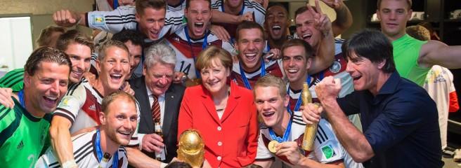 メルケル ワールドカップ