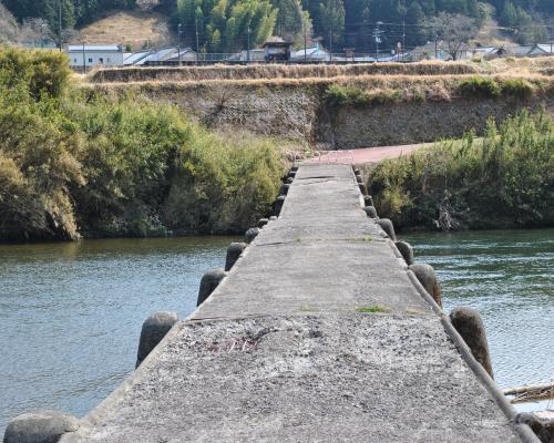 若井沈下橋