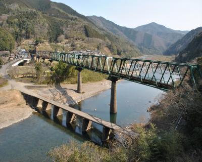 三島鉄橋と沈下橋