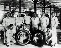 第一号タイヤの誕生