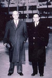 正二郎とリッチフィールド会長