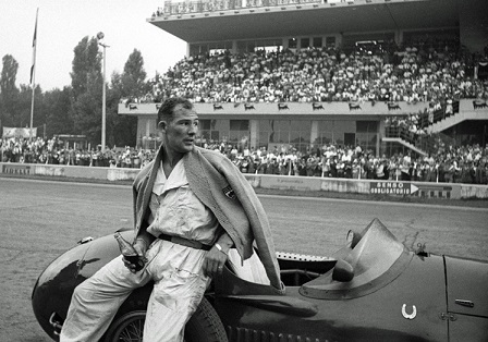 Sir Stirling Moss@1954 Itarian GP
