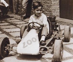 レーシングカートとセナ