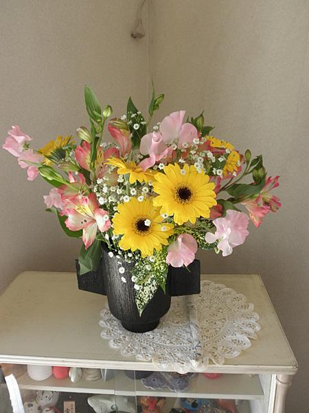 20140331100歳記念の花束②