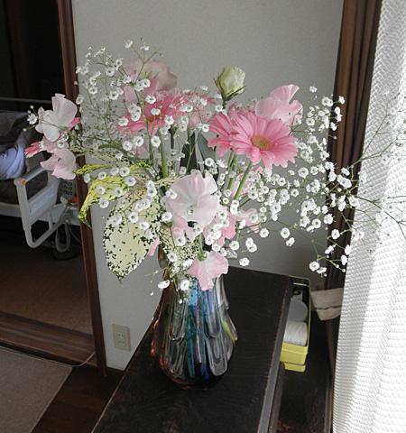 20140331100歳記念の花束③