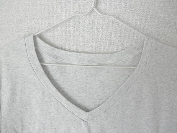 20140515VネックTシャツ②