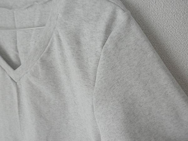 20140515VネックTシャツ③