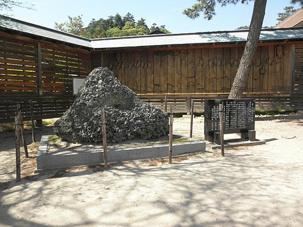 20140511出雲大社さざれ石①