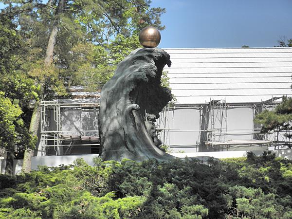 20140511出雲大社ムスビの御神像①