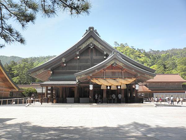 20140511出雲大社拝殿①