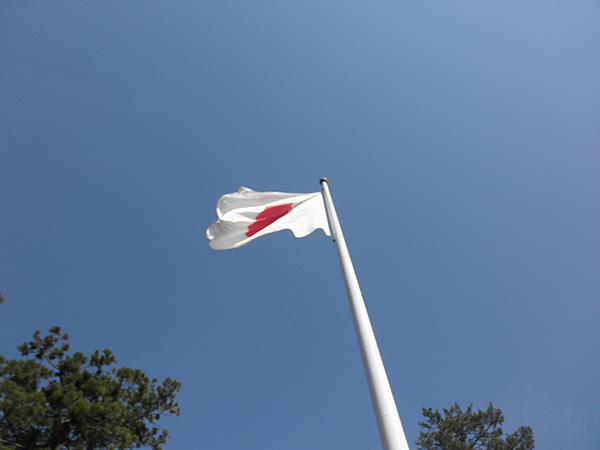 20140511出雲大社国旗掲揚塔②