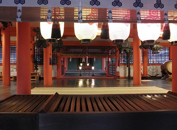 20140512厳島神社御本殿②