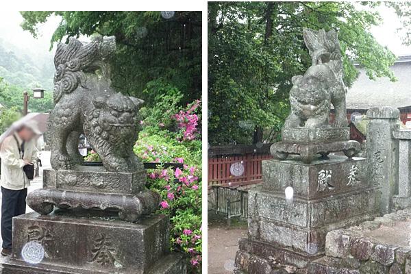 20140512厳島神社狛犬
