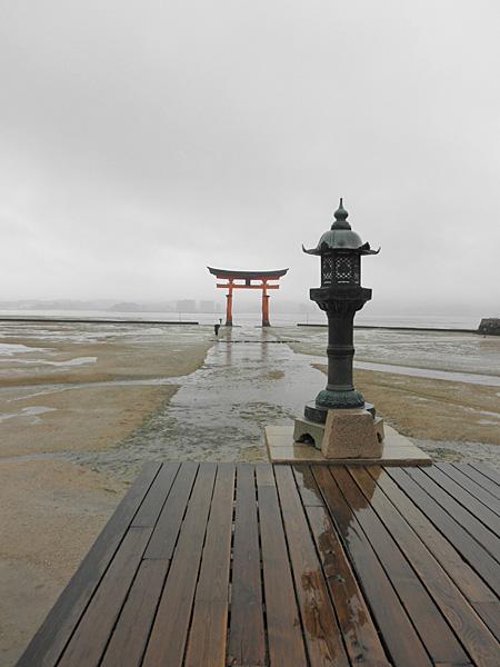20140512厳島神社大鳥居③
