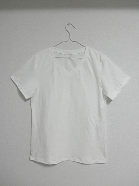 20140526VネックTシャツ①