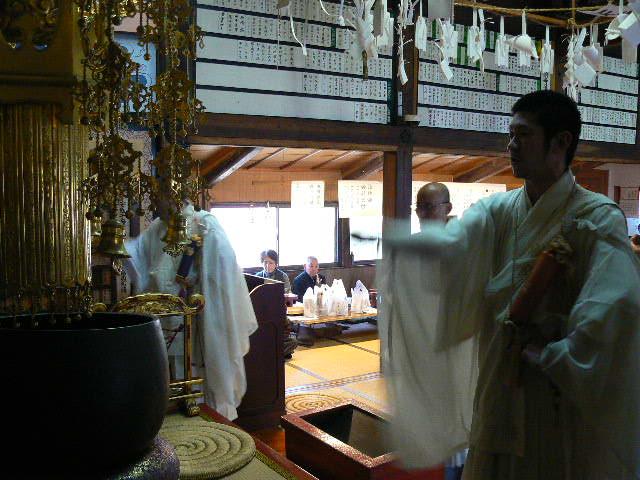 子安鬼子母神法楽する聖僧