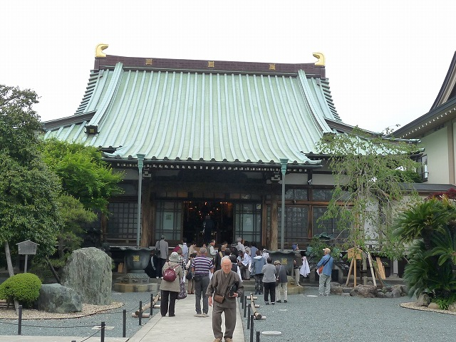 本山海長寺に参拝