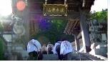 波木井山に参拝