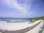 角島の海水浴場