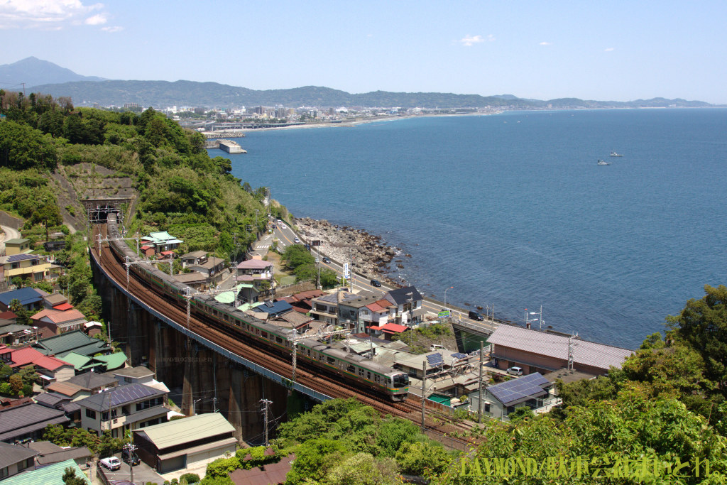 東海道線早川-根府川間 E217系 F-03編成 20140517
