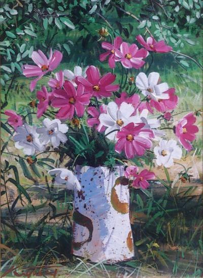 2014花を描く展1