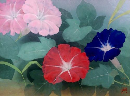 2014花を描く展6