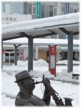 140215G 019駅前雪A
