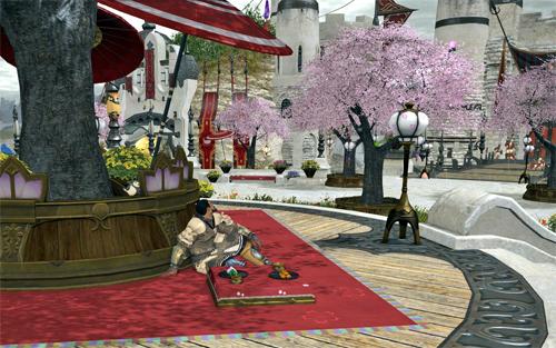 和傘とハイランダー