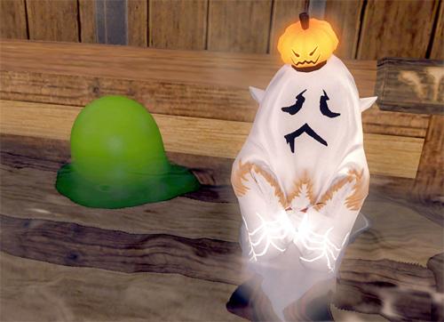 スライムと幽霊