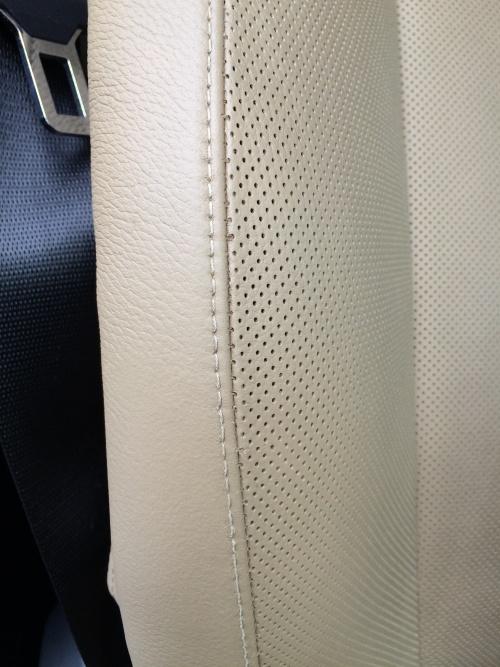 BMW X6 レザーシート 傷補修